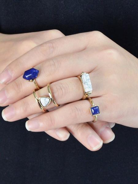 Женские кольца комплект 4 шт панк кольцо ювелирных изделий из бисера