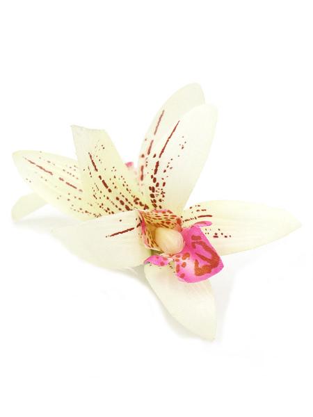 Wedding Flower Hairslides Lily Silk Flower Bridal Hair Clasp фото