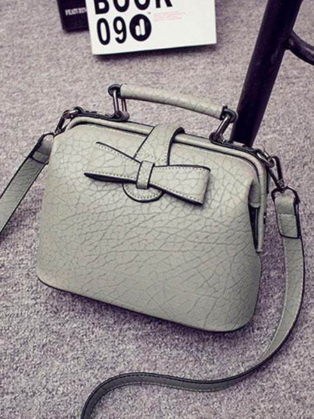 Cross Body Bag Women's Bow PU Horizontal Hangbags фото