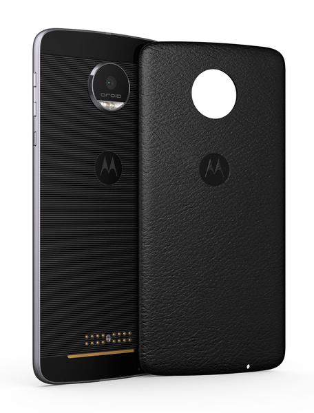 Moto Z Cap Leather Ultrathin Black Moto Z Style Phone Case