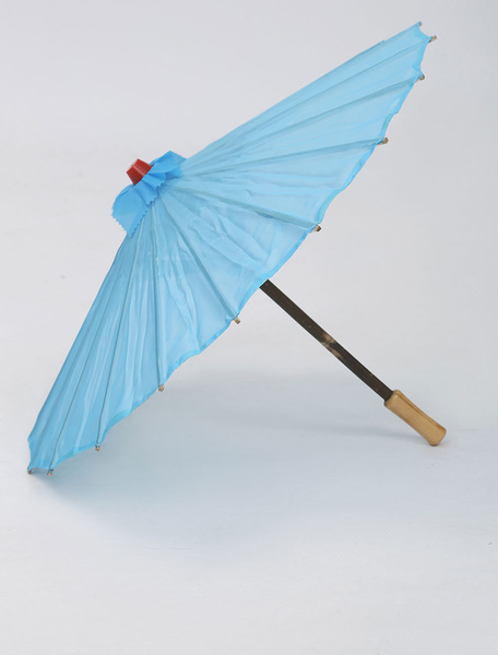 Ocean Blue Hua Mulan Cosplay Umbrella фото