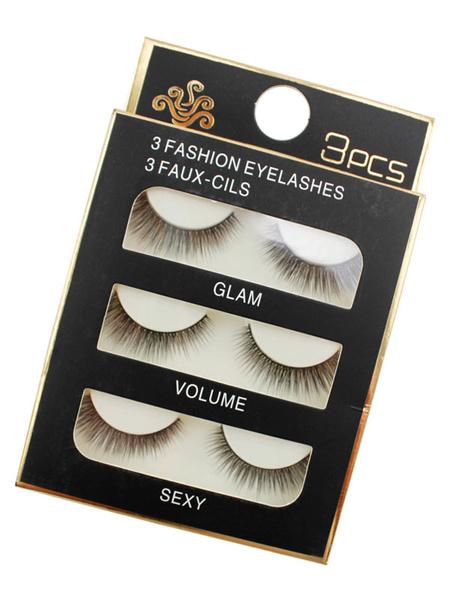 Women's False Eyelashes Black High Quality Synthetic Eyelash Extension