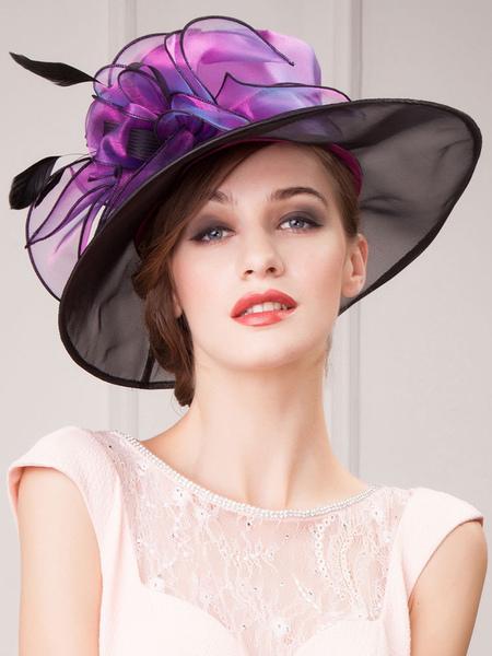 34b11bdd2 Vintage Hair Fascinator Women's Black Lace Flower Retro Headband ...