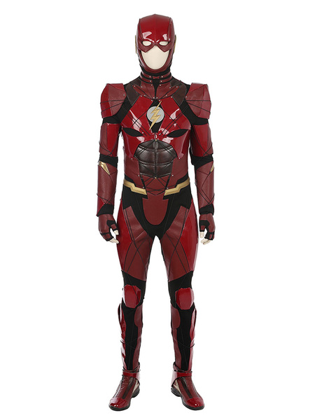 DC Comics Justice League The Flash Cosplay Costume фото