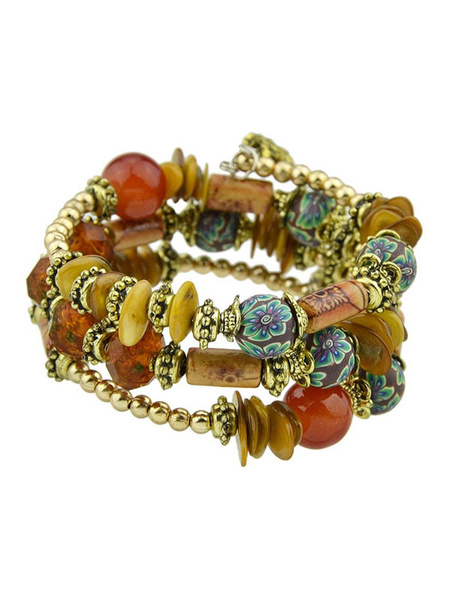 Boho Beaded Bracelet Valentine Gift Women Jewelry