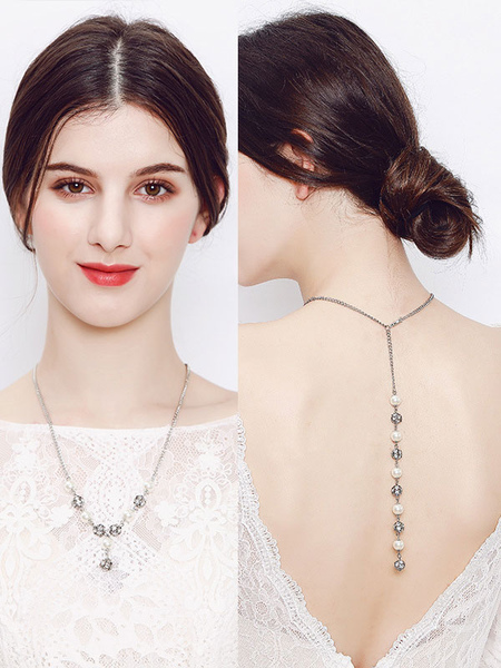 Collier de marie fausse perle lgant - Milanoo FR - Modalova