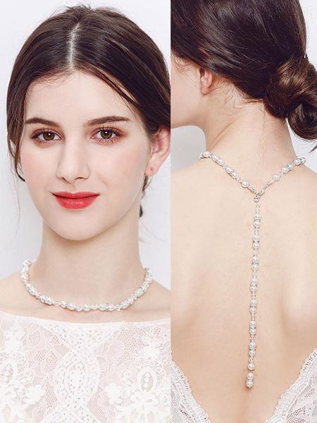 Collier pour marie fausse perle lgant - Milanoo FR - Modalova