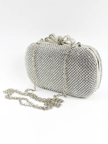 Evening Clutch Bag Rhinestones Beading Bridal Purse Wedding Handbags (usa41697802) photo