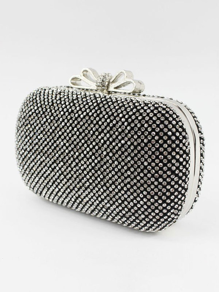 Evening Clutch Bag Rhinestones Beading Bridal Purse Wedding Handbags (usa41697800) photo