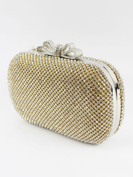 Evening Clutch Bag Rhinestones Beading Bridal Purse Wedding Handbags (usa41697798) photo
