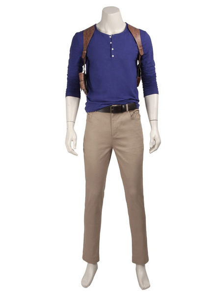 Image of Carnevale 4 Uncharted un fine Nathan Drake Carnevale ladro Costume Cosplay Carnevale
