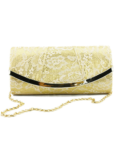 Lace Wedding Clutch Bags Women Evening Purse Party Handbags (uk41748392) photo