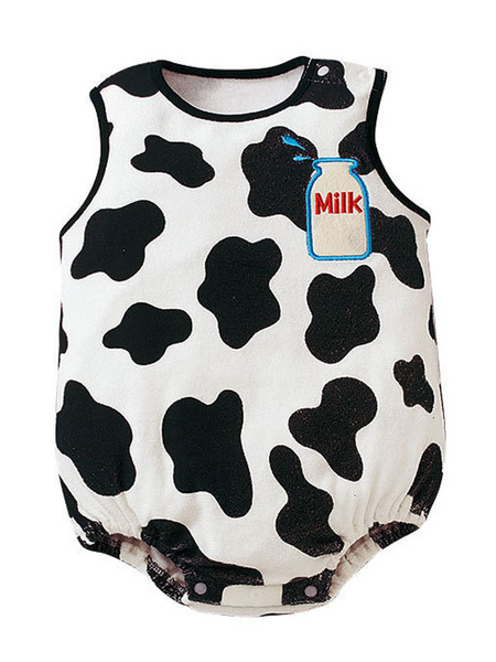Milanoo Baby Cow Costume Infant Kids Vêtements Déguisements Halloween