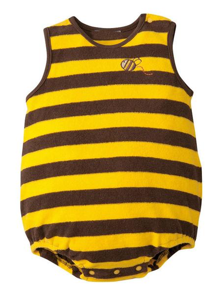 Milanoo Baby Bee Costume Vêtements Unisexe Enfants Déguisements Halloween