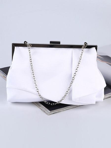 Satin Clutch Bags Wedding Bridal Purse Evening Handbags (uk42219278) photo