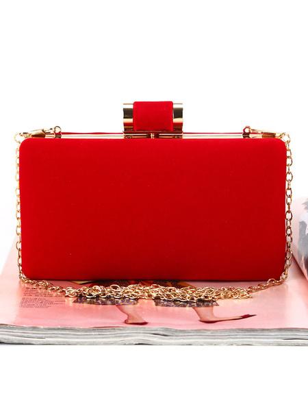 Evening Clutch Bags Wedding Bridal Purse Corduroy Party Handbags (usa42219708) photo