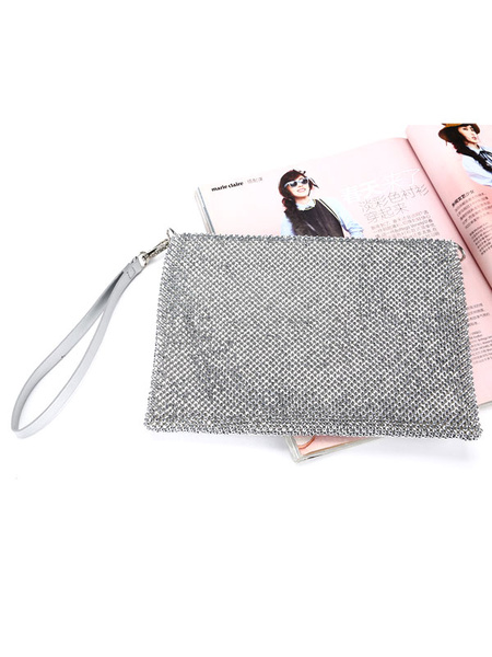 Clutch Purse Evening Rhinestone Beaded Wedding Party Handbags (usa42219694) photo