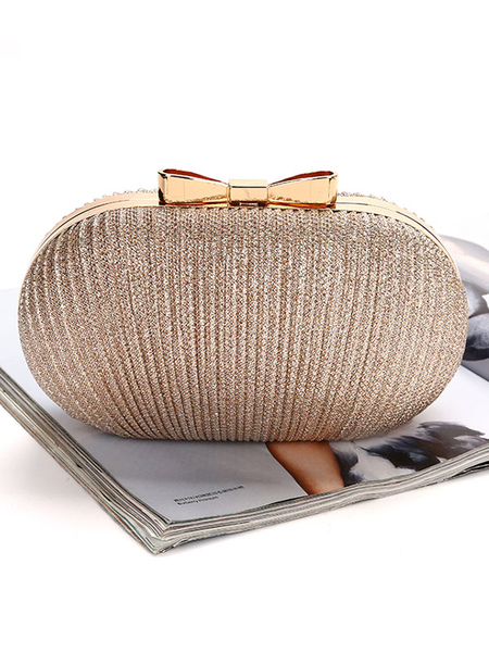 Gold Clutch Bags Wedding Bridal Purse Evening Party Handbags (uk42219706) photo