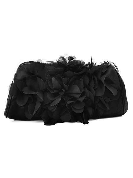Flower Clutch Bags Wedding Bridal Purse Evening Party Handbags (usa42256196) photo
