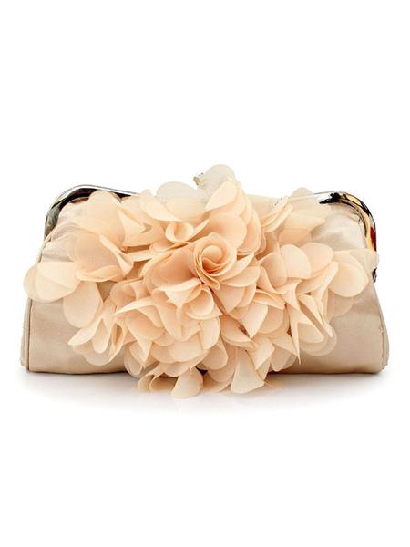 Flower Clutch Bags Wedding Bridal Purse Evening Party Handbags (uk42256192) photo