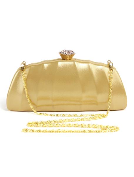 Wedding Clutch Bags Metallic Purse PU Evening Party Handbags (usa42256482) photo