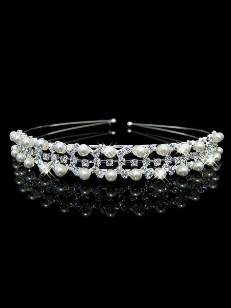 Bandeau mariage bandeau perle strass marie cheveux accessoires - Milanoo FR - Modalova