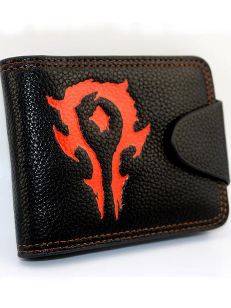 World Of Warcraft Wallet WOW PU Leather Black Anime Purse (usa42452584) photo