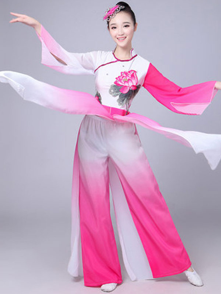 Traditional Dance Chinese Costumes Asian Women Carnival Costumes
