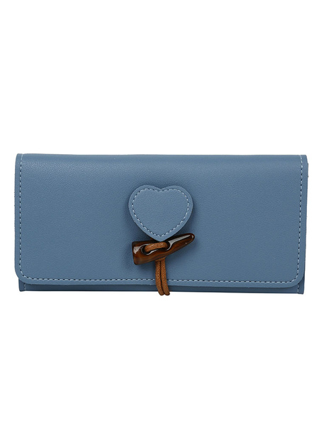 Clutch Bag Antler Horn Button Horizontal Shape Leather Like Purse (usa42863276) photo