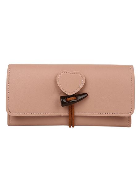 Clutch Bag Antler Horn Button Horizontal Shape Leather Like Purse (uk42863272) photo