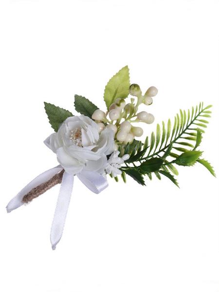 Image of Fiori per matrimonio Bellissimi fiori nuziali in misto poliestere / cotone