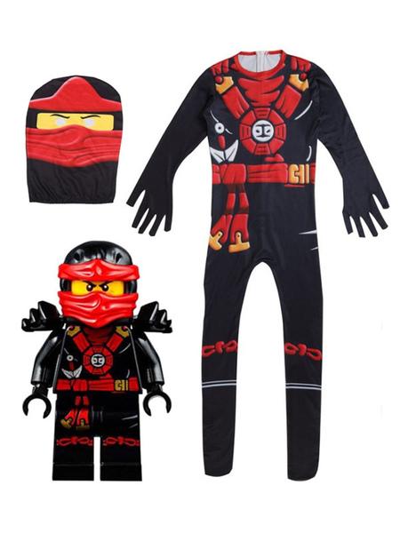 Milanoo LEGO Ninjago Masters Of Costumes Cosplay Spinjitzu pour enfants Déguisements Halloween