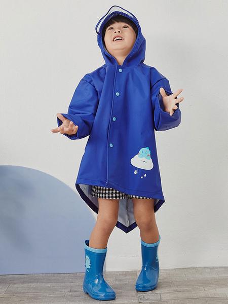 Milanoo Kid's Rain Poncho Dinosaur Halloween Cosplay Costume
