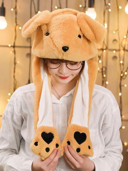 Milanoo Halloween Hat Kangaroo Moving Hat Rabbit Ear Cosplay Costume Accessories