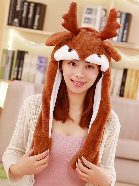 Milanoo Halloween Hat Deer Moving Hat Rabbit Ear Cosplay Costume Accessories