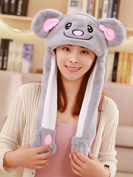 Milanoo Halloween Hat Koala Moving Hat Rabbit Ear Cosplay Costume Accessories