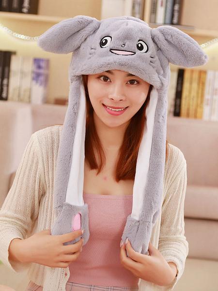 Milanoo Halloween Hat Totoro Moving Hat Rabbit Ear Cosplay Costume Accessories