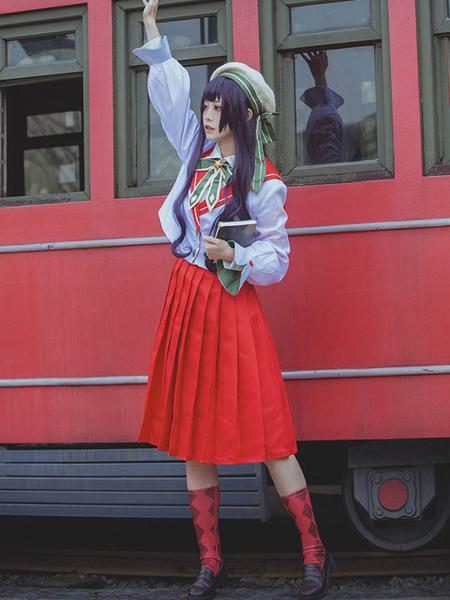 Kostüme CardCaptor Sakura Daidoji Tomoyo Cosplay Kostüm Uniform Stoff Original JK Uniformen Cosplay Kostüm
