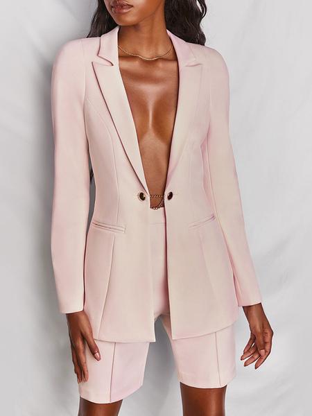 Tailleur ;tailleur pantalon ;ensemble tailleur ;ensemble blazer - Milanoo FR - Modalova