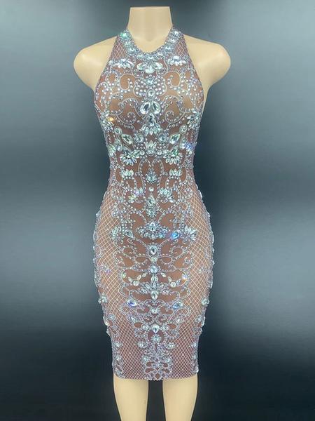 Jazz Dance Costumes For Women Lycra Spandex Dress Dancing Wear