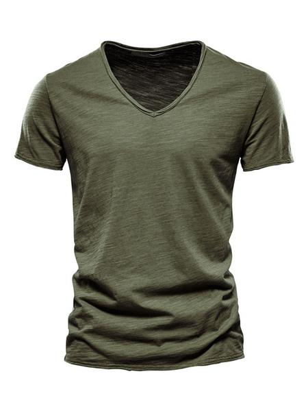 T-shirts Chic V-Neck Short ...