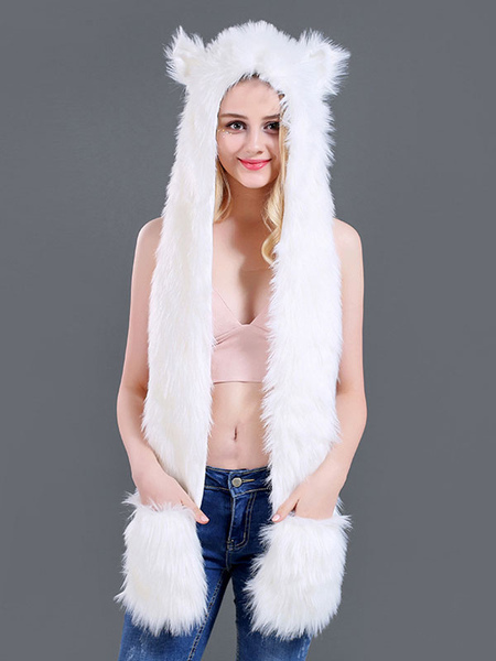 Fur Hat For Women Polyester...