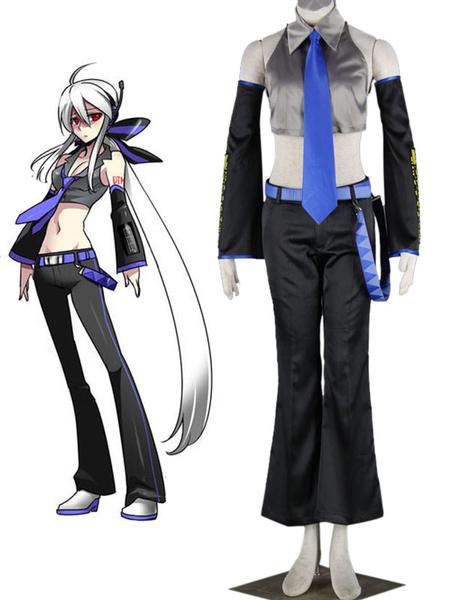 Vocaloid Haku Anime Cosplay Costume фото