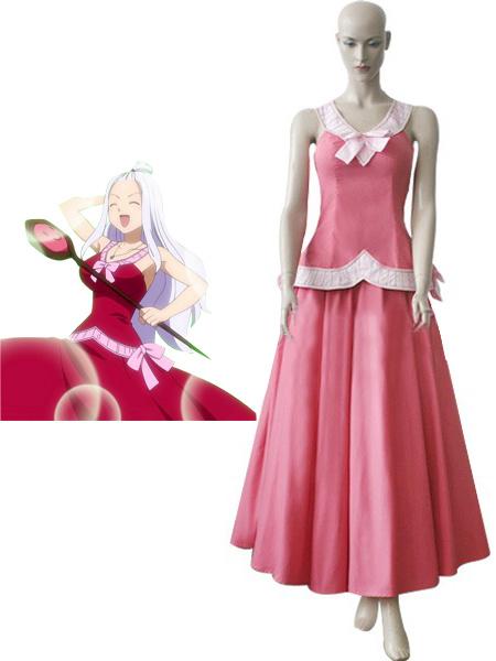 Fairy Tail Mirajane Strauss Cosplay Costume