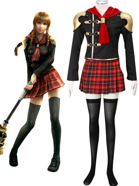 Final Fantasy Type-0 Suzaku Peristylium Class Zero NO.5 Cinque Cosplay Costume фото