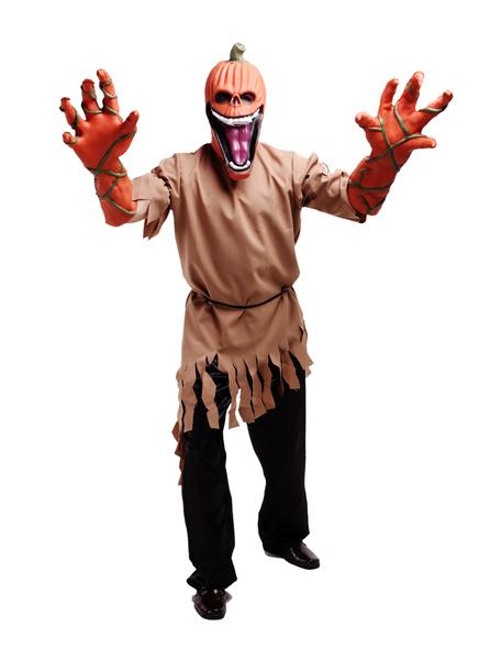 Halloween Monster Costume Dreadful Pumpkin Costume Cosplay фото