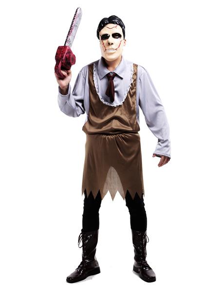 Halloween Zombie Costume Horrible Butcher Costume Cosplay фото