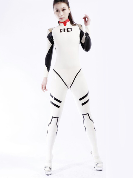Halloween Trendy Unisex Bodysuit Latex Catsuits фото