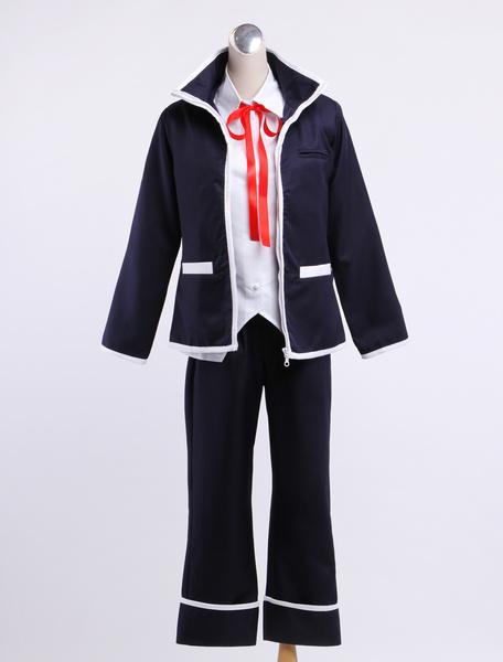 K Isana Yashiro Shiro Halloween Cosplay Costume фото