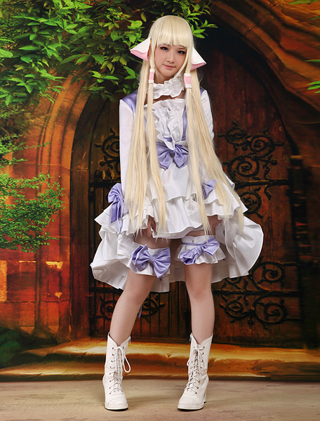 Chobits Chii Halloween Cosplay Costume Sweet Lolita Dress фото